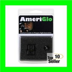 AmeriGlo SW141 i-Dot Night Sight S&W M&P Shield Tritium Green w/White...