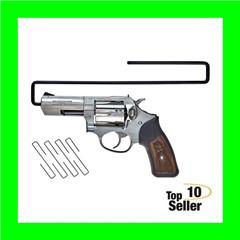 SnapSafe 75870 Handgun Hanger Black Slip-On 4 Per Pack