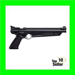 Crosman P1377 Classic American Pump Pistol .177 Pellet,BB Black