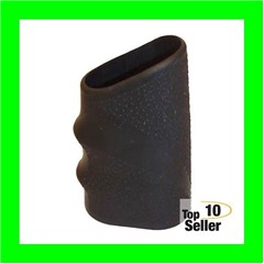 Hogue 17110 HandAll Tactical Grip Sleeve Textured Black Small Rubber