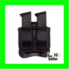Galco M11X22 Matrix Double Fits Glock 489mm Luger Polymer Black