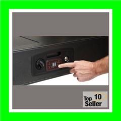 Hornady 98190 Rapid Safe AR GunlockerElectronic RFID Black 16 Gauge...