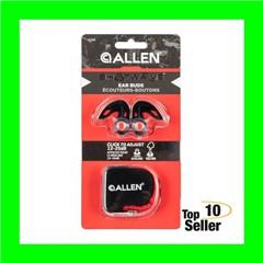 Allen 2398 Shotwave Ear Buds Silicone 12-25dB Red Ear Buds w/Black Ear