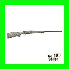 "Bergara Rifles Premier Approach 7mm Rem Mag 3+124"" Woodland Camo..."