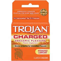 Trojan Charged (Pack of 3)