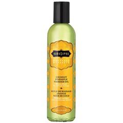 Kama Sutra Naturals Massage Oil-Coconut Pineapple 8oz