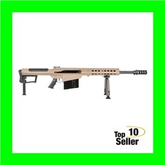 "Barrett 18066 M107A1 50 BMG 20"" Fluted 10+1 Flat Dark Earth Cerakote"