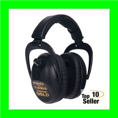 Pro Ears GSP300BLK Predator Gold Electronic 26dB Over the Head Black...