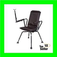 BenchMaster BMPSSSC Sniper Seat 360 Shooting Chair Black Steel/Foam