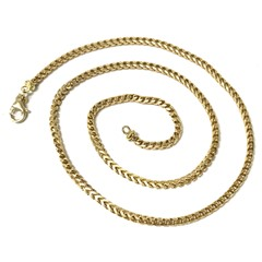 Men's Chain 18kt Yellow Gold