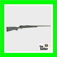 """Howa HS Precision 7mm Rem Mag 3+124"""" Gray w/Black Webbing Fixed HS..."""