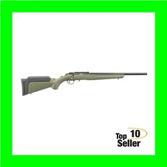 "Ruger 8335 American Rimfire 22 Mag 9+1 18"" OD Green Satin Blued Right"
