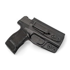 Sig Sauer P365 Tuckable IWB KYDEX Holster Black / Right Hand (w/Full Sweatg