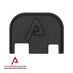 """Agency Arms """"A"""" Embossed Back Plate Glock Aluminum"""