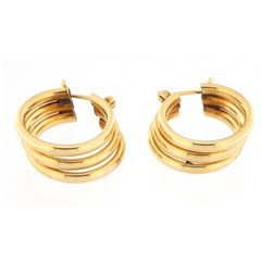 Women's Earrings 14kt Yellow Gold