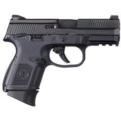 """FNH FNS-9 COMPACT 9MM 3.6"""" 17RD MATTE BLACK"""