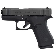 GLOCK PX4350201 G43X 9MM LUGER DAO