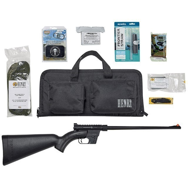 HENRY AR7 US SURVIVAL RIFLE 22LR BAG AND GEAR-img-0