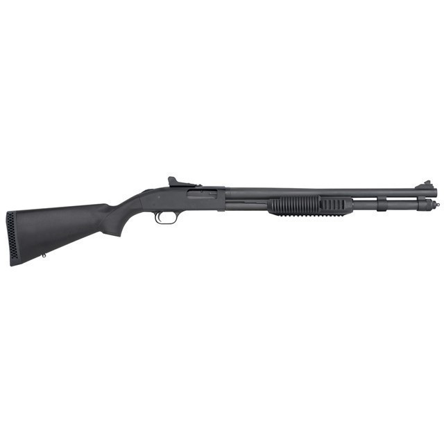 MOSSBERG 590 TACTICAL 12GA 20IN 9RD PUMP-ACTION-img-0