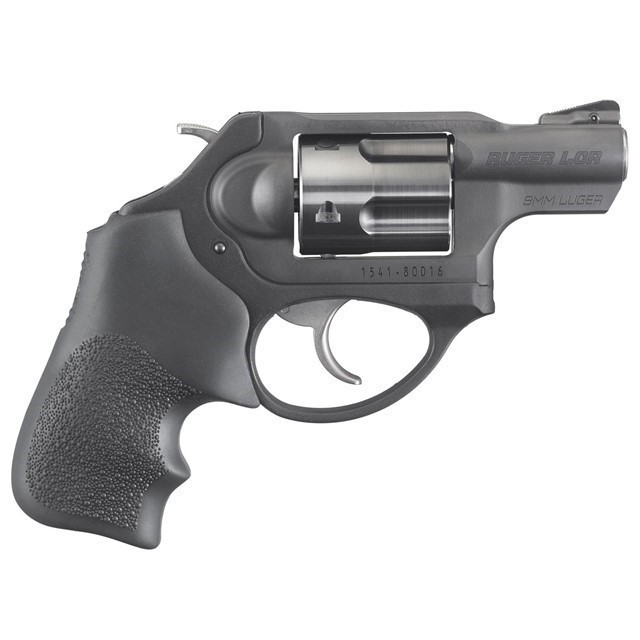 RUGER LCR LCRX ALL BLACK 9MM 1.87IN BARREL-img-0