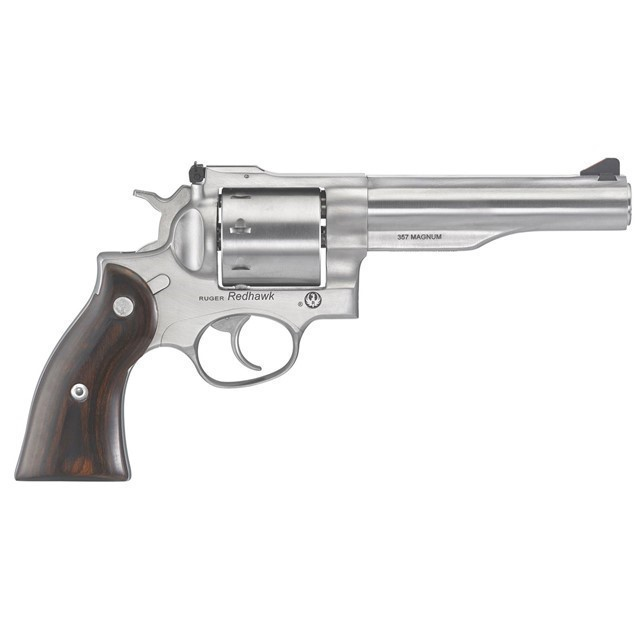"RUGER REVOLVER REDHAWK 357 MAG 5.5"" STAINLESS-img-0"
