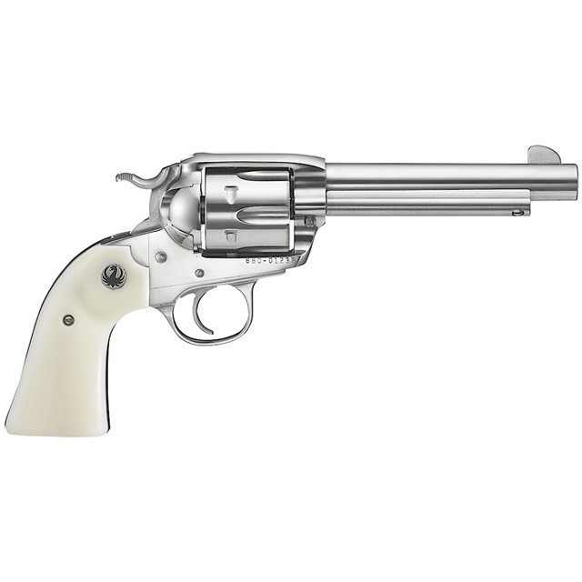 """RUGER VAQUERO BSLY 45LC 5.5"""" STS 6RD-img-0"""