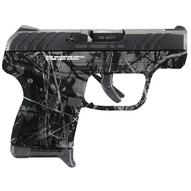 RUGER LCP II .380ACP 6-SHOT FS BL SLD HARVEST MOON-img-0