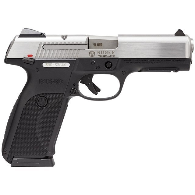 RUGER SR45 CENTERFIRE 45 ACP STAINLESS, 3801-img-0