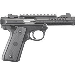 "RUGER MARK IV 22/45 4.4"" 22LR 10RD BLACK 43906"