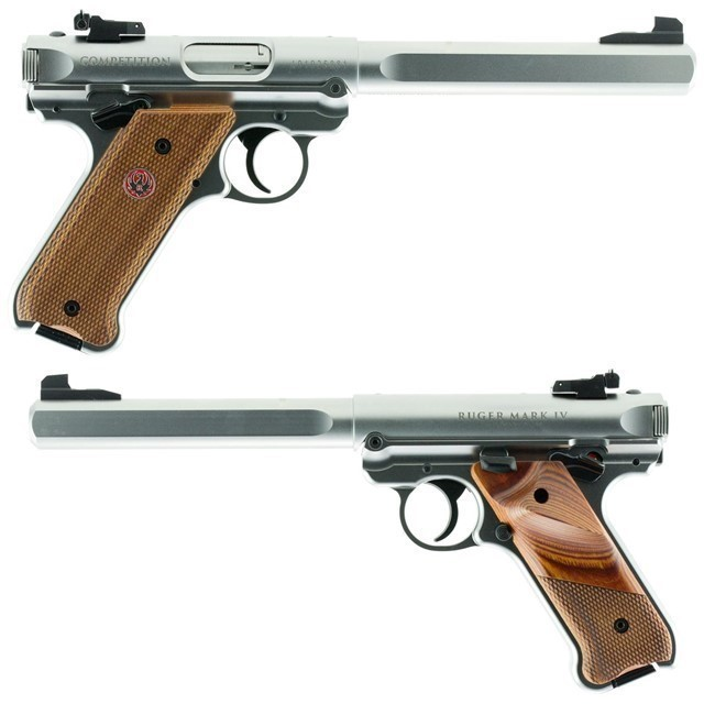 RUGER MARK IV COMPETITION .22LR #40112-img-0