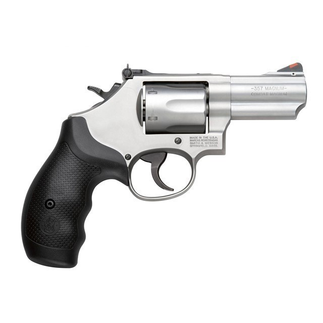 """S&W 66 2.75"""" 357MAG 6RD STS AS RBR-img-0"""