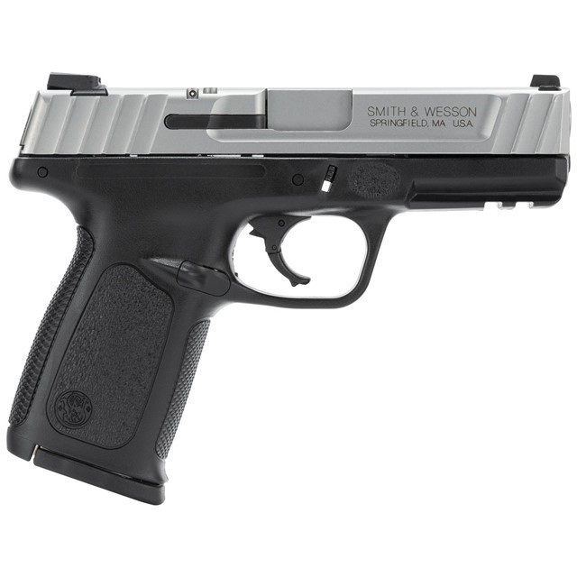 SMITH & WESSON SD40VE*CA*123403 40S 4 BLK/SS 10R-img-0