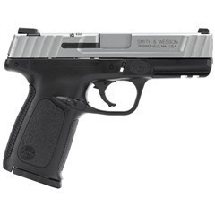 SMITH & WESSON SD40VE*CA*123403 40S 4 BLK/SS 10R