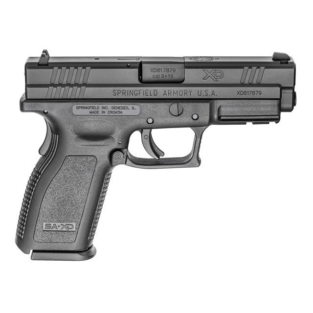 SPRINGFIELD ARMORY XD9101 9MM 4 ESSENTIAL BLK-img-0