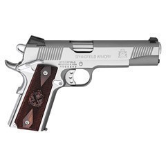 "SPRINGFIELD 1911 STAINLESS LOADED 5"" 45 PX9151L"