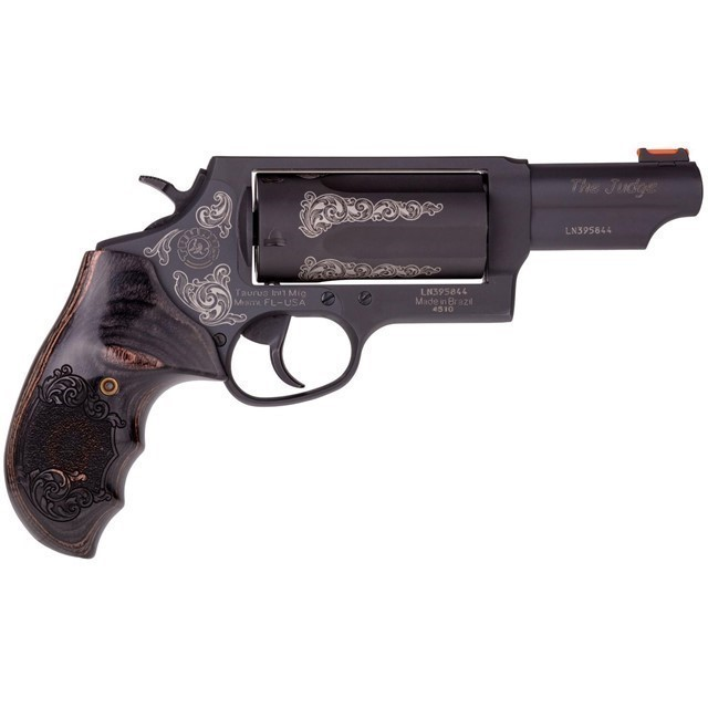 "TAURUS JUDGE MAG 45/410 3"" ENGRAVED-img-0"