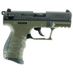 "WALTHER P22 CA MILITARY .22LR 3.42"" AS 10-SHOT OD"