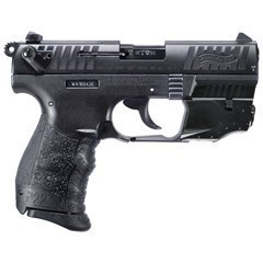 "WALTHER P22Q .22LR W/LASER AS 3.4"" BLACK POLYMER"