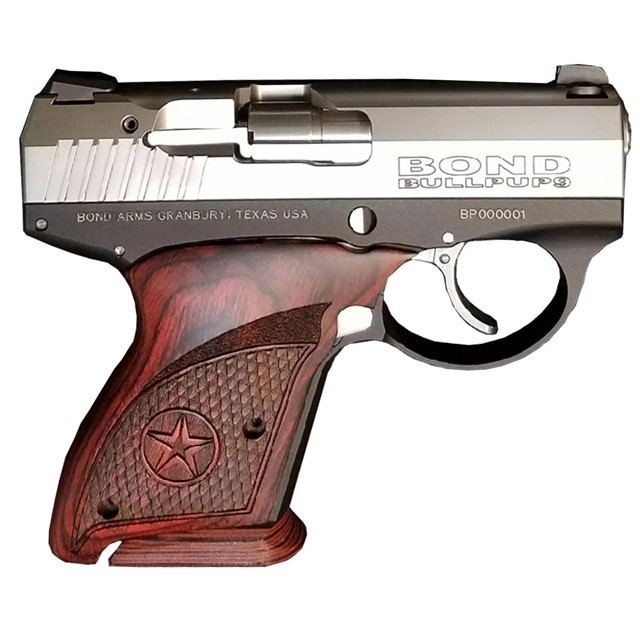 BOND ARMS BULL PUP 9MM 3.3 7RD BULLPUP9 2 MAGS-img-0