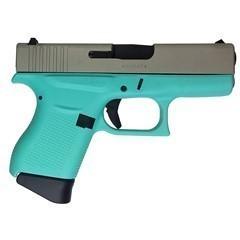GLOCK 43 9MM ROBIN'S EGG BLUE UI4350201CKRESA