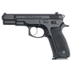 """CZ 75 B 4.6"""" 9MM BLACK 16RD DA/SA 91102"""