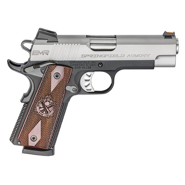"SPRINGFIELD ARMORY 1911EMP PISTOL 9MM 3"" STAINLESS-img-0"