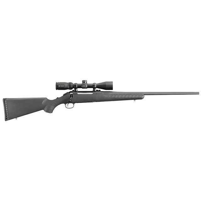 RUGER 16932 AMERICAN 270 WIN 22 4+1 SYNTHETIC BLK-img-0