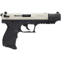 WALTHER ARMS 5120326 P22T 22 LR NKL TARGET