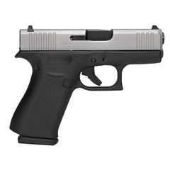 GLOCK 43X G43X SILVER NIGHT SIGHTS