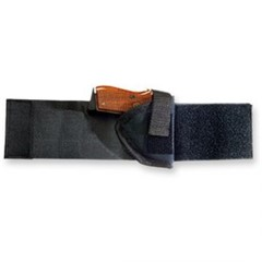 BD RIGHT HAND BLK ANKLE HOLSTER FITS MOST REVOLV  - New