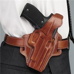 GALCO FLETCH HIGH RIDE BELT HOLSTER GLOCK 17 RH  - New