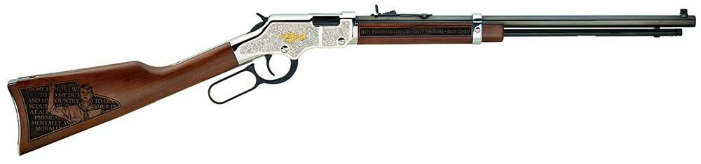 HENRY H004STS GB SALUTE TO SCOUTING 22LR  - New-img-0