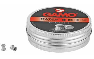 GAMO 250 MATCH PELLTS FLAT NOSE .177  - New-img-0