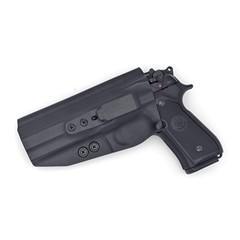 Beretta 92 Compact Tuckable IWB KYDEX Holster Black / Left Hand (w/Full Swe